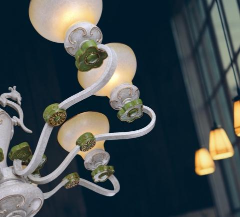 【限量福利】喜來登客廳吊燈 2