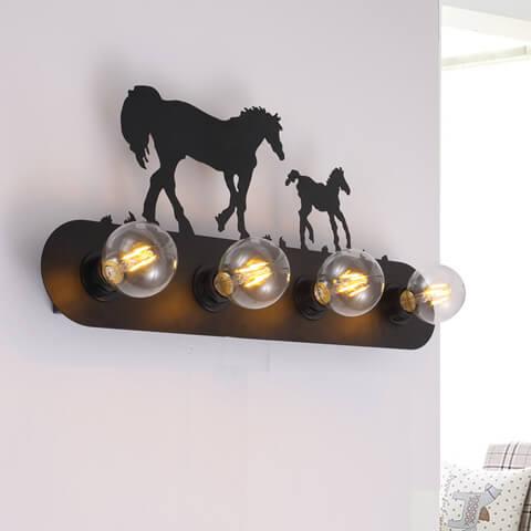 【熱銷款】馬雲造型壁燈 2