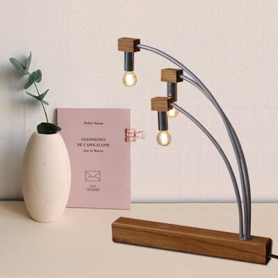 麗楓原木檯燈 1