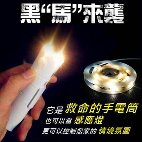感應燈手電筒 1