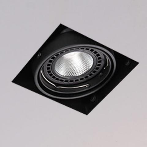 開孔150*150mm*AR111 COB 15W*1無邊框盒燈 2