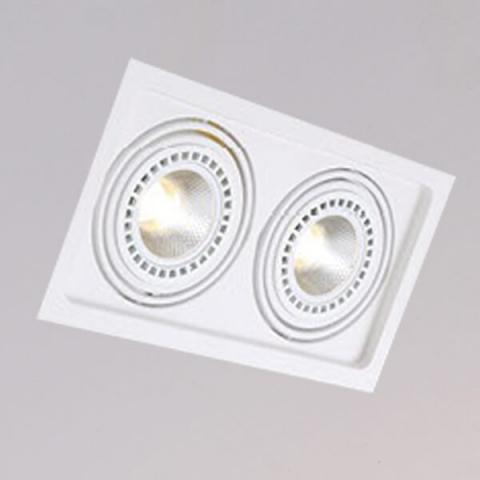 開孔310*160mm*AR111 COB 15W*2盒燈 1