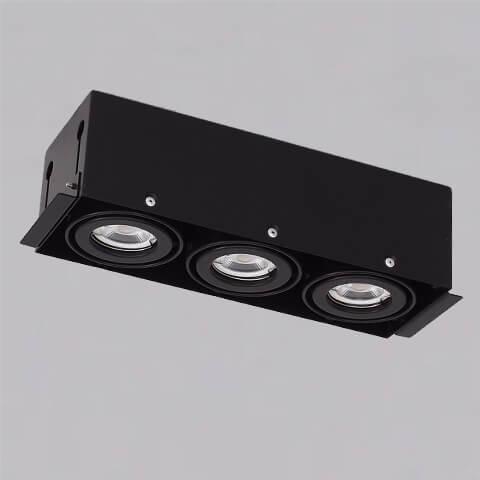 開孔310*108mm*MR16 COB 5W*3無邊框盒燈 1