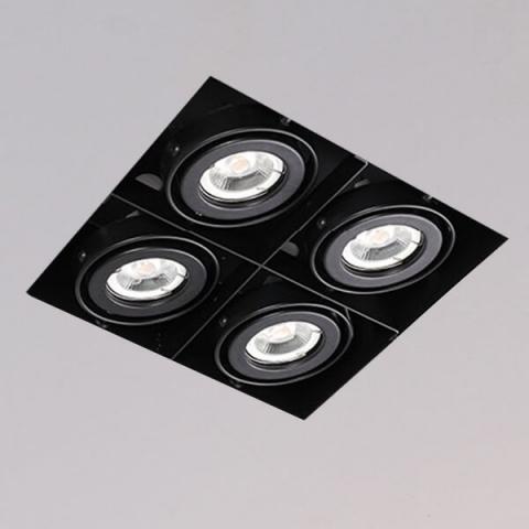 開孔219*219mm*MR16 COB 5W*4無邊框盒燈 2