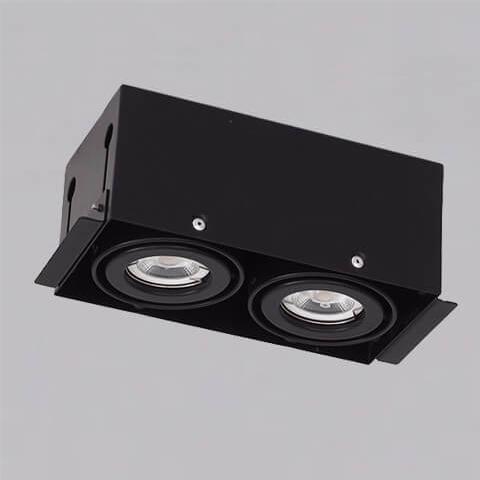 開孔210*108mm*MR16 COB 5W*2無邊框盒燈 1