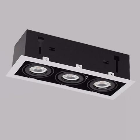 開孔285*100mm*MR16 COB 5W*3有邊框盒燈 1