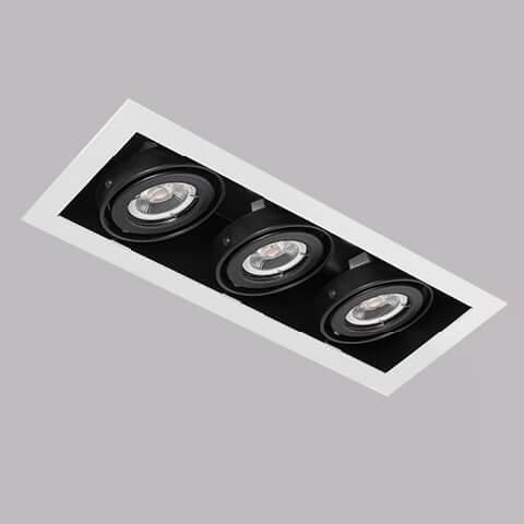 開孔285*100mm*MR16 COB 5W*3有邊框盒燈 2